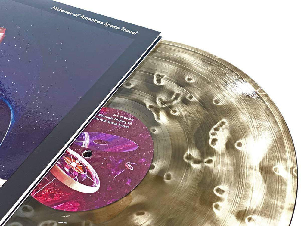 moon:and:6 - Histories Of American Space Travel (Deluxe Etching 2xLP) - VINYL MOON