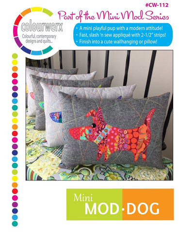 PDF Mini Mod Dog Pattern