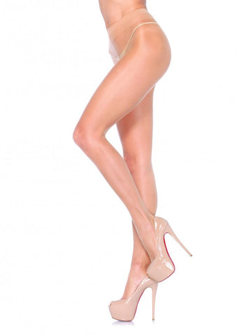 Spandex NUDE SHEER Waist Support Pantyhose (Leg Avenue)