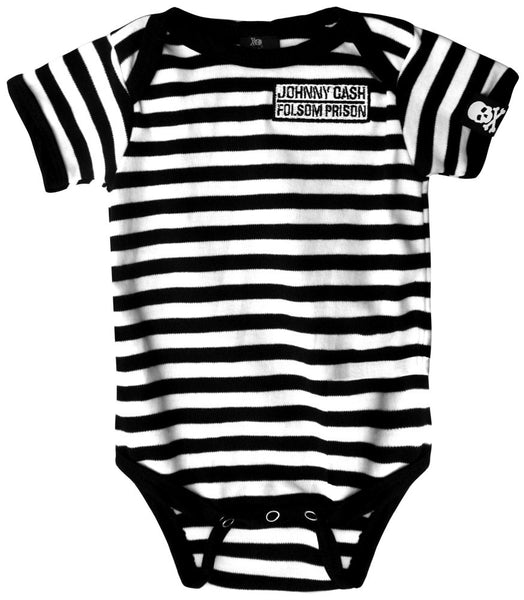 "Johnny Cash ""Folsom Prison"" Onesie (Sourpuss)"