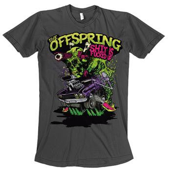 "The Offspring ""Sifu Hydro"" Men's Soft GRAY Tee"