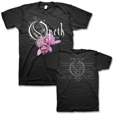 "Opeth ""Orchid"" Men's T-Shirt w/ Back Print"