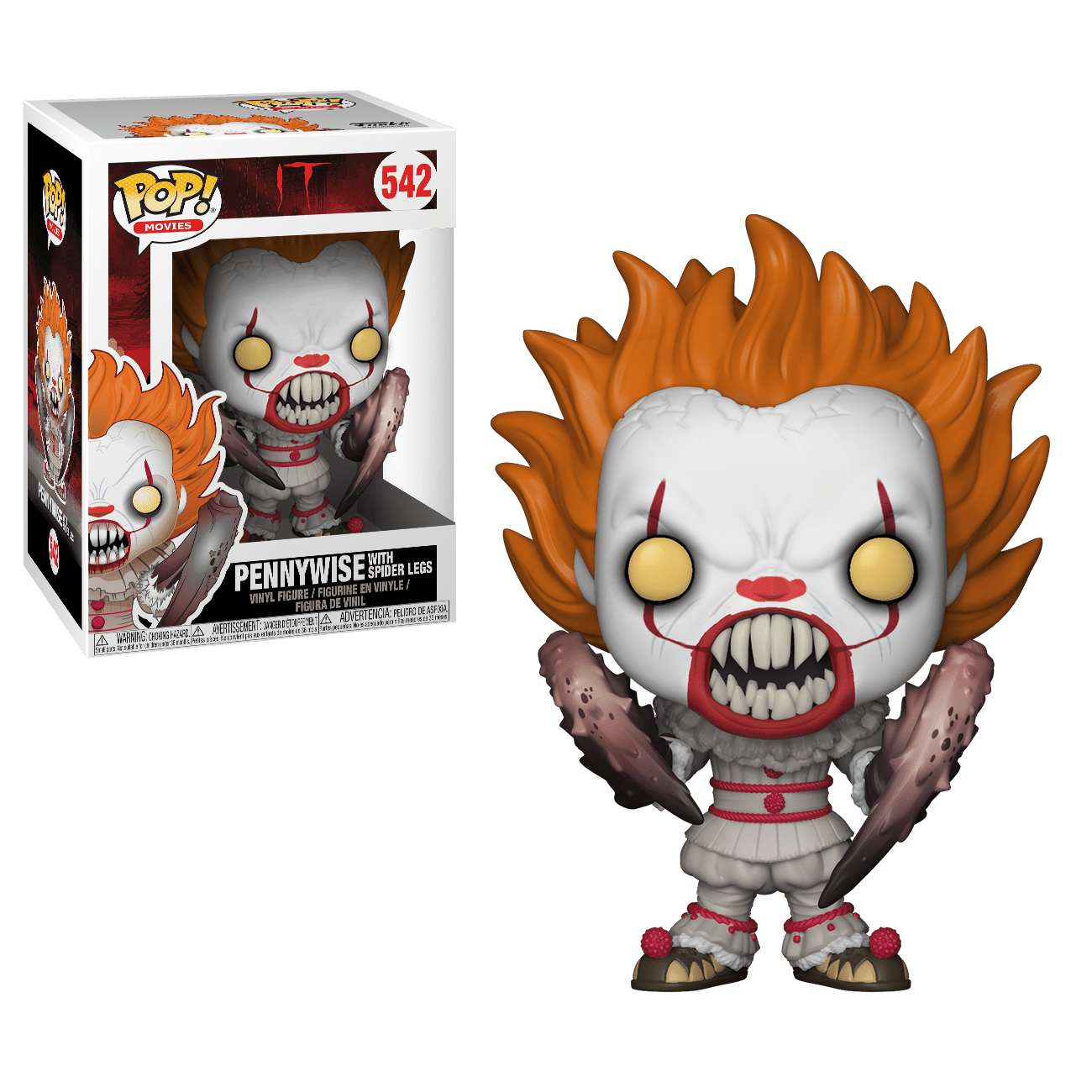 It Movie Pennywise (with Spider Legs) Pop