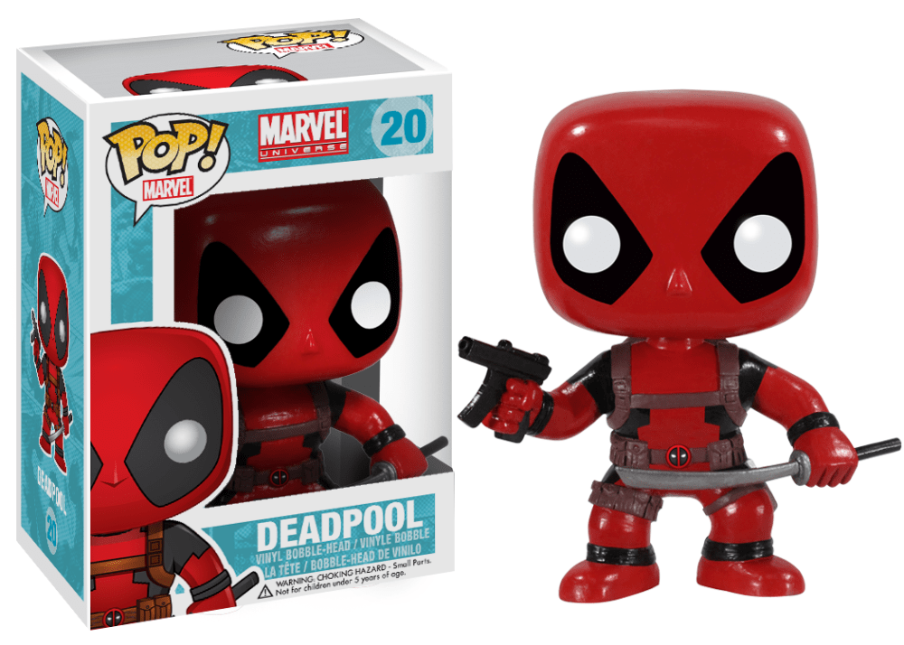 Deadpool Marvel Universe Pop
