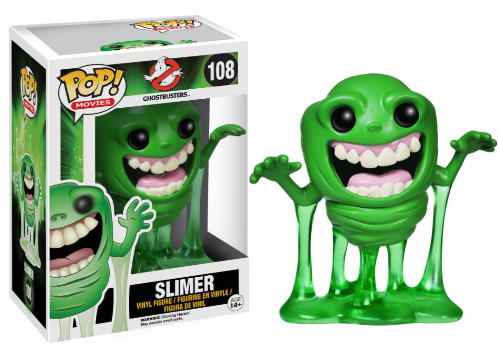 Ghostbusters Slimer Pop Retired
