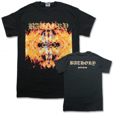 "Bathory ""Hordes"" T-Shirt w/ Back Print"