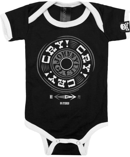"Johnny Cash ""Cry Cry"" Onesie (Sourpuss)"