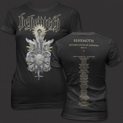 behemoth divided states of satanika t-shirt