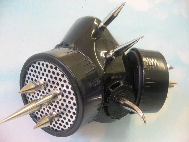 Cyber Respirator with Aluminum Discs and Long Spikes (Solstice)