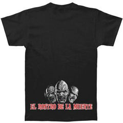 "Hirax ""El Rostro De La Muerte"" Men's T-Shirt With Back Print"