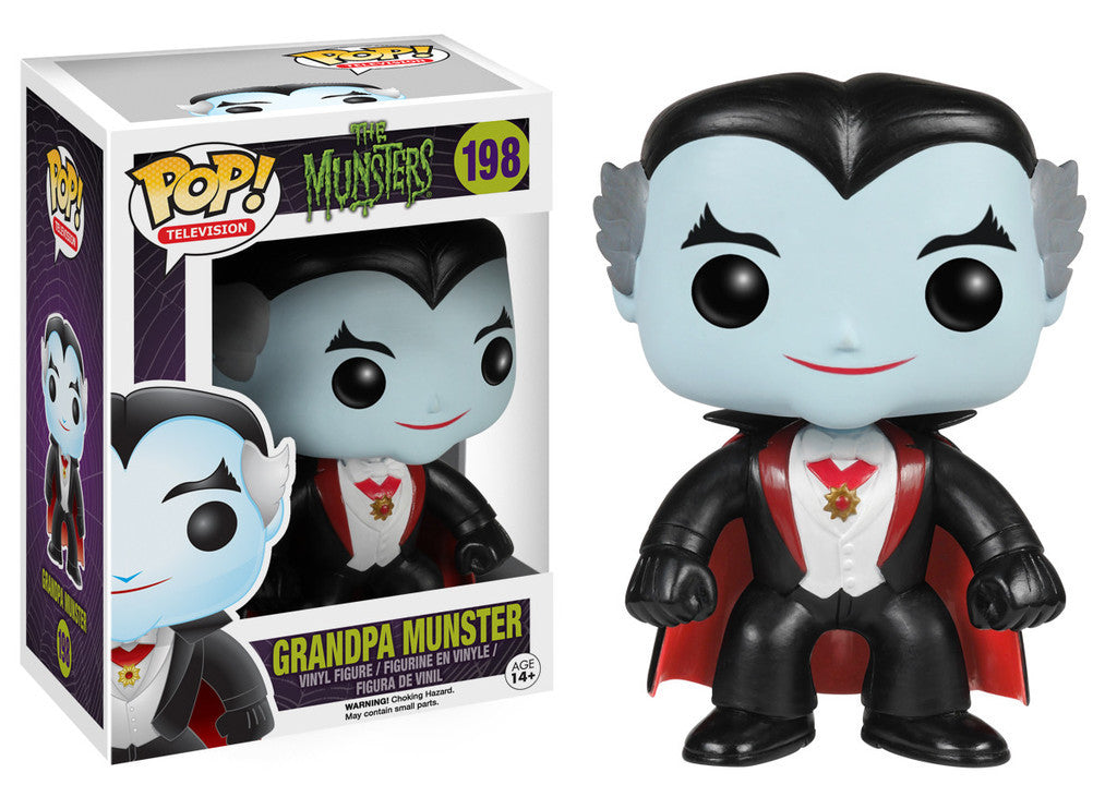 Munsters Grandpa Munster Pop Retired