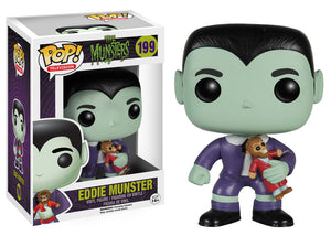 Munsters Eddie Munster Pop Retired