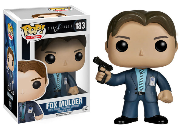 X-Files Fox Mulder Pop Retired