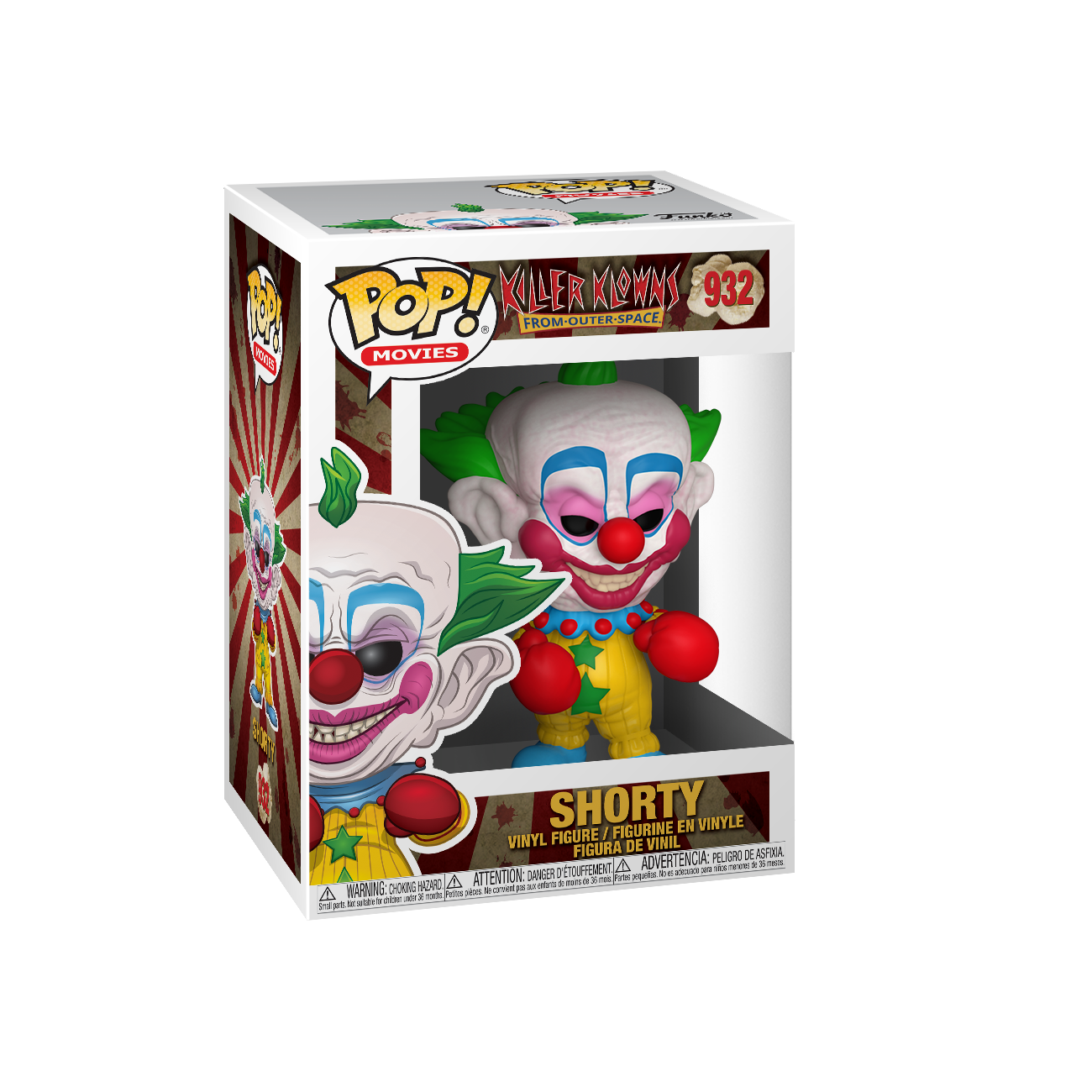 Killer Klowns from Outer Space Shorty Pop
