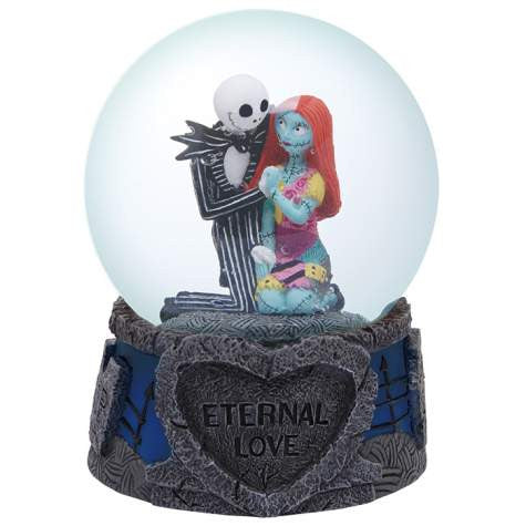 Jack & Sally Eternal Love 85mm Water Globe (Westland Giftware)