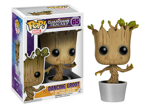 Pop! Marvel: Guardians Of The Galaxy - Dancing Groot (Funko)