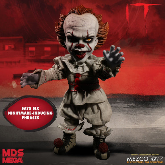 It Pennywise Mega Scale Talking Pennywise Doll