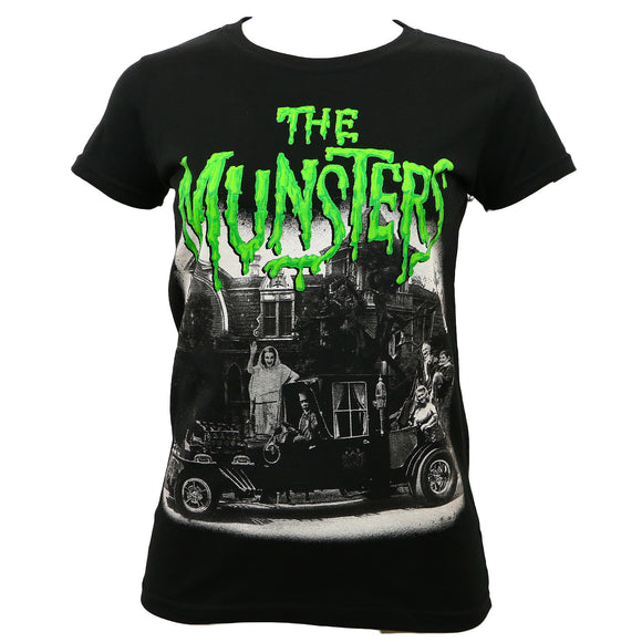 Munsters Family Coach T-Shirt