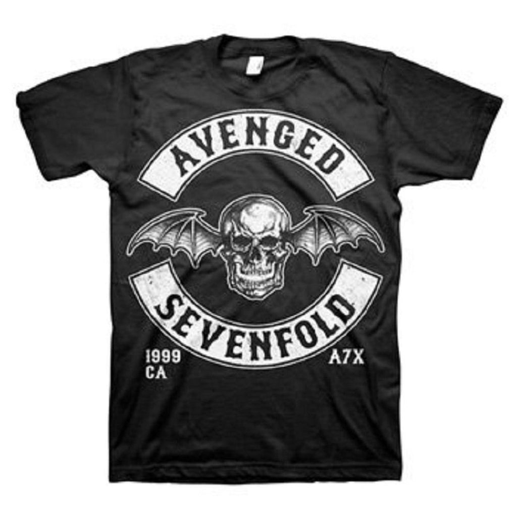 "Avenged Sevenfold ""Deathbat Crest"" Men's T-Shirt"
