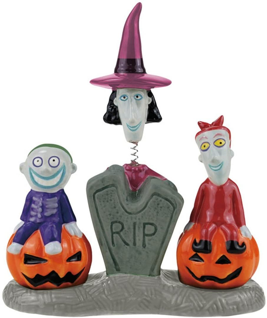 Nightmare Before Christmas Lock, Shock and Barrel Salt & Pepper Shakers