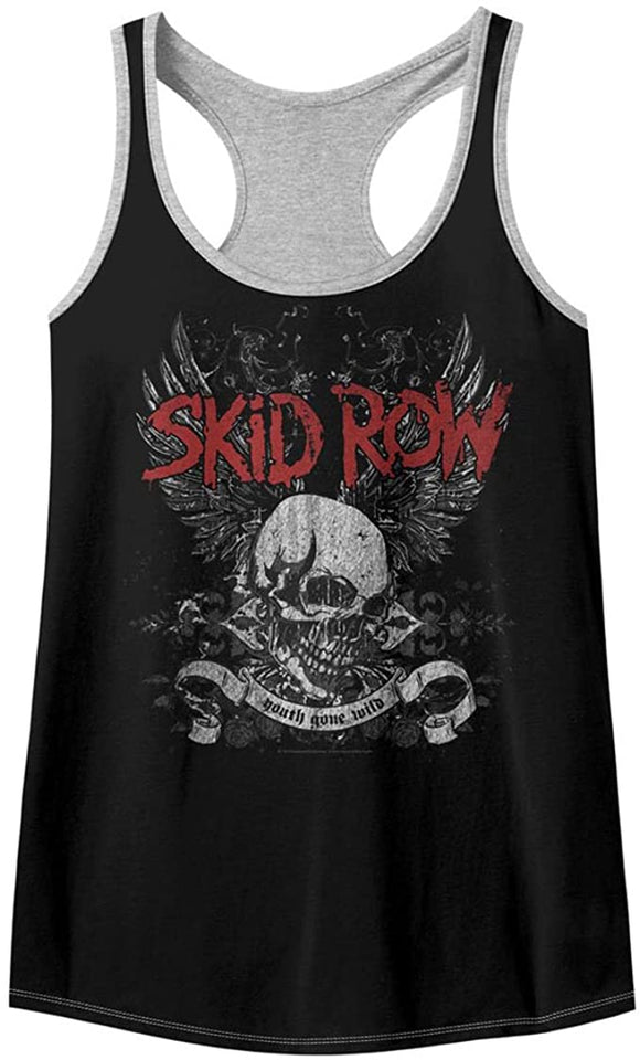 Skid Row Youth Gone Wild Racerback Tank Top