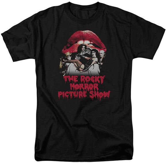 Rocky Horror Picture Show Casting Throne T-Shirt