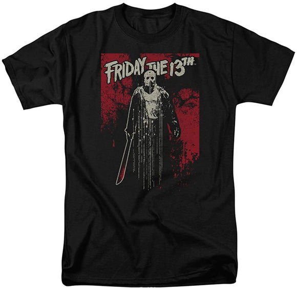 Friday the 13th Jason Drip T-Shirt