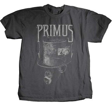"Primus ""Monkey In A Top hat"" Men's SOFT GRAY T-Shirt"