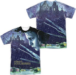 Load image into Gallery viewer, Edward Scissorhands Double Sided All Over Poster T-Shirt