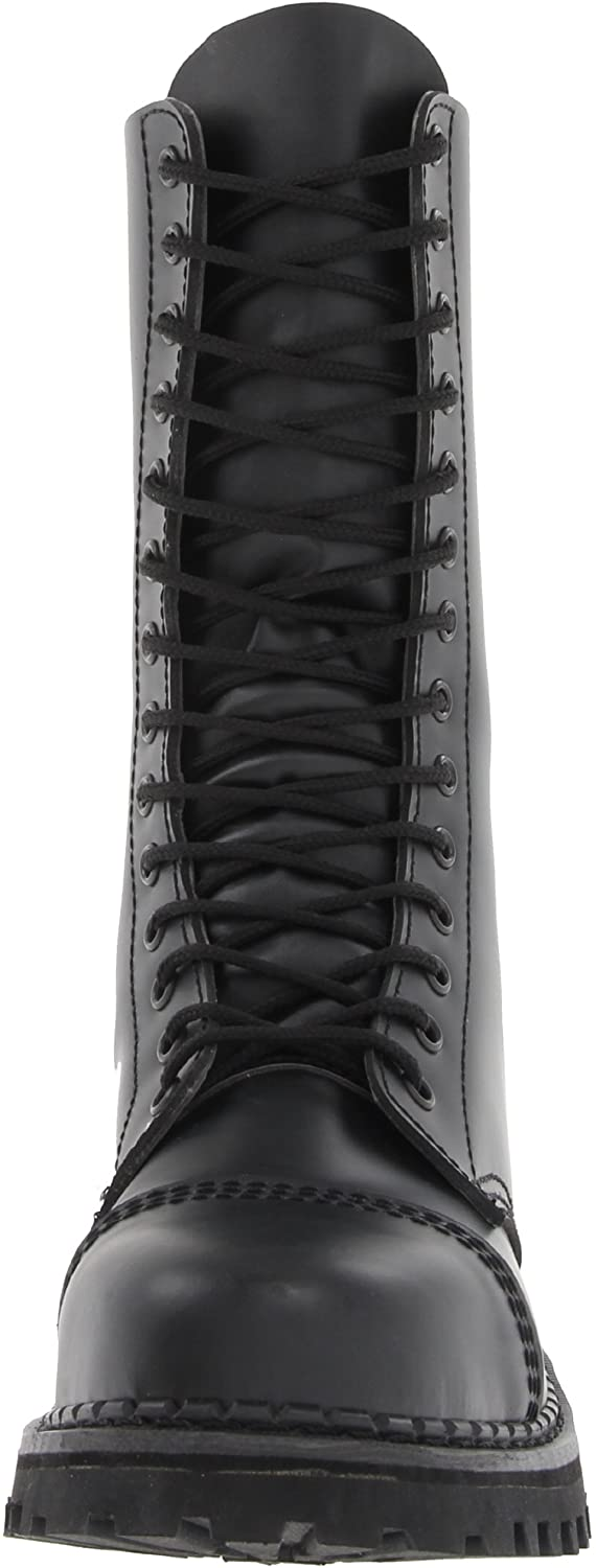 Rocky-14 Real Leather 14 Eyelet Combat Boot
