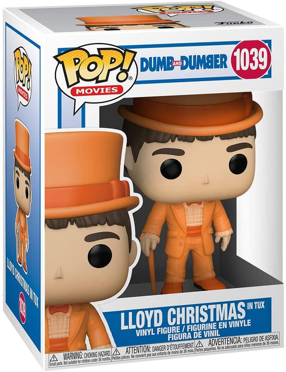 Dumb and Dumber Lloyd Christmas in Tux Pop