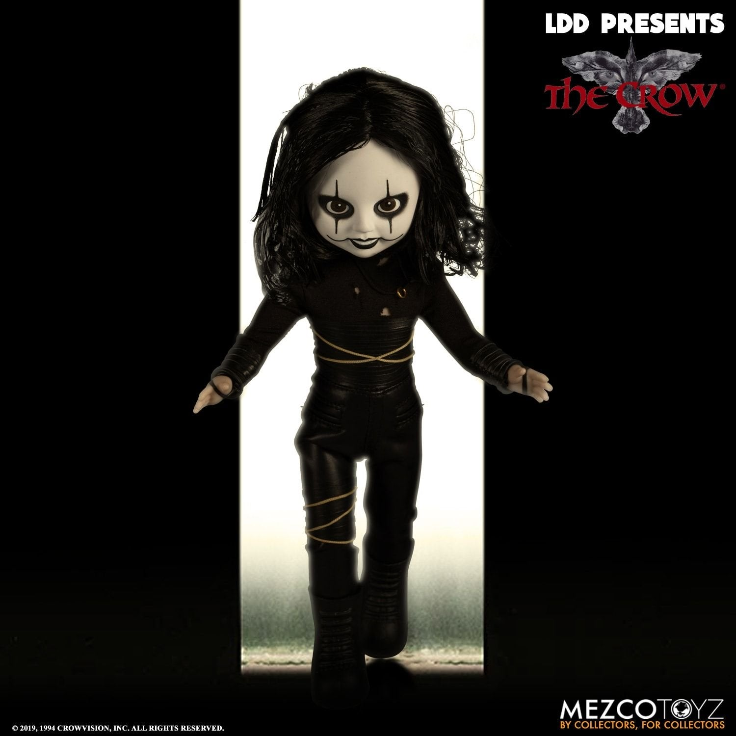 "Crow Eric Draven 10"" Doll"