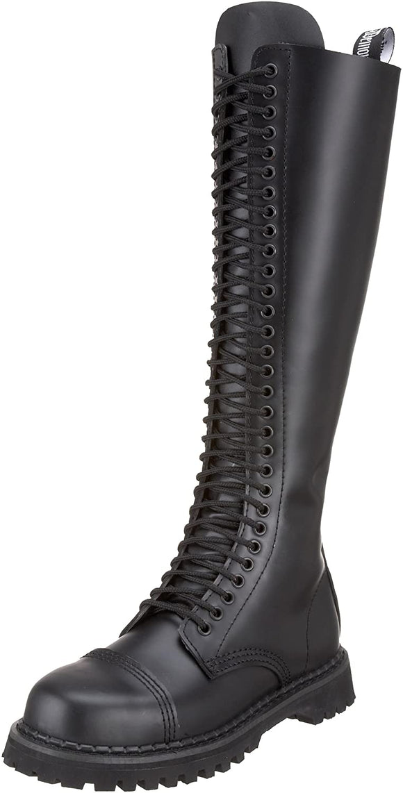 Rocky-20 Real Leather 20 Eyelet Combat Boot