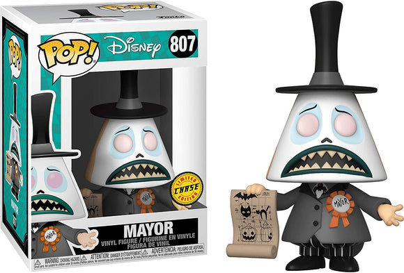 Nightmare Before Christmas Mayor w/ Megaphone Pop (Chase Special Edition)