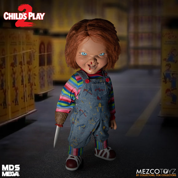 Child's Play 2 MDS Mega Scale Talking Menacing Chucky