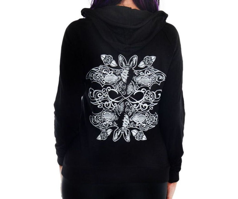 Burnout Hoodie for Women