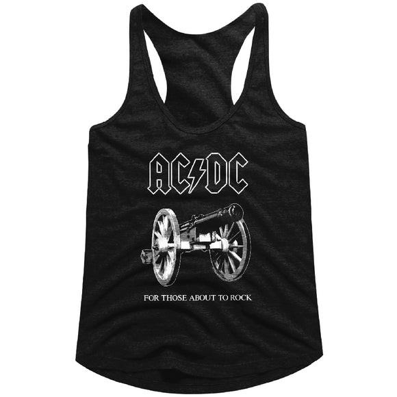 ACDC For Those About to Rock Racerback Tank Top