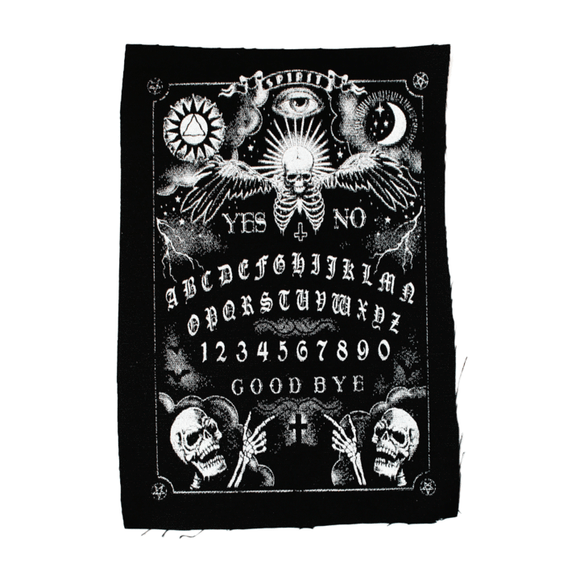 Rise From The Dead Ouija Spirit Cloth Patch