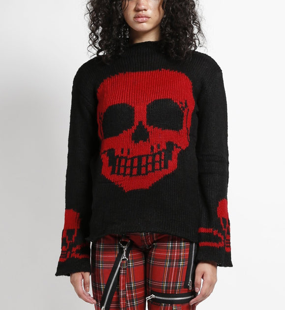 Skull Sweater (Red Skull)