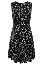 Load image into Gallery viewer, Azrael Skater Dress