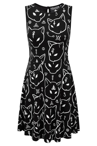 AZRAEL SKATER DRESS