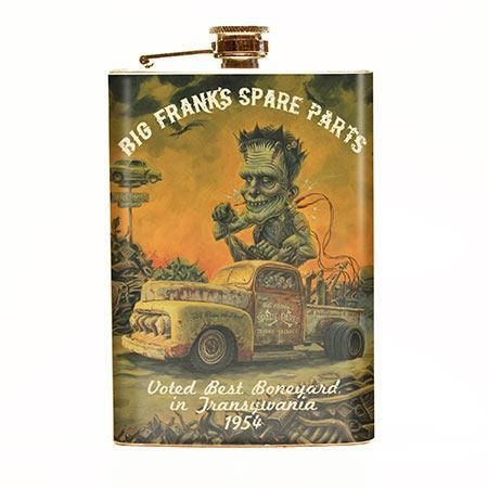 Big Frank's Spare Parts Flask