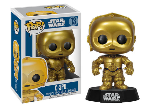 Pop! Star Wars: C-3PO (Funko)