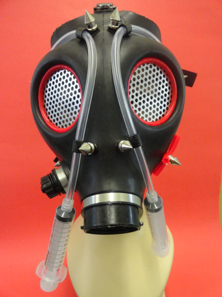 Cyber Gas Mask Made of Modified Real Gas Mask (Solstice)