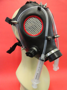 Cyber Gas Mask Made of Modified Real Gas Mask