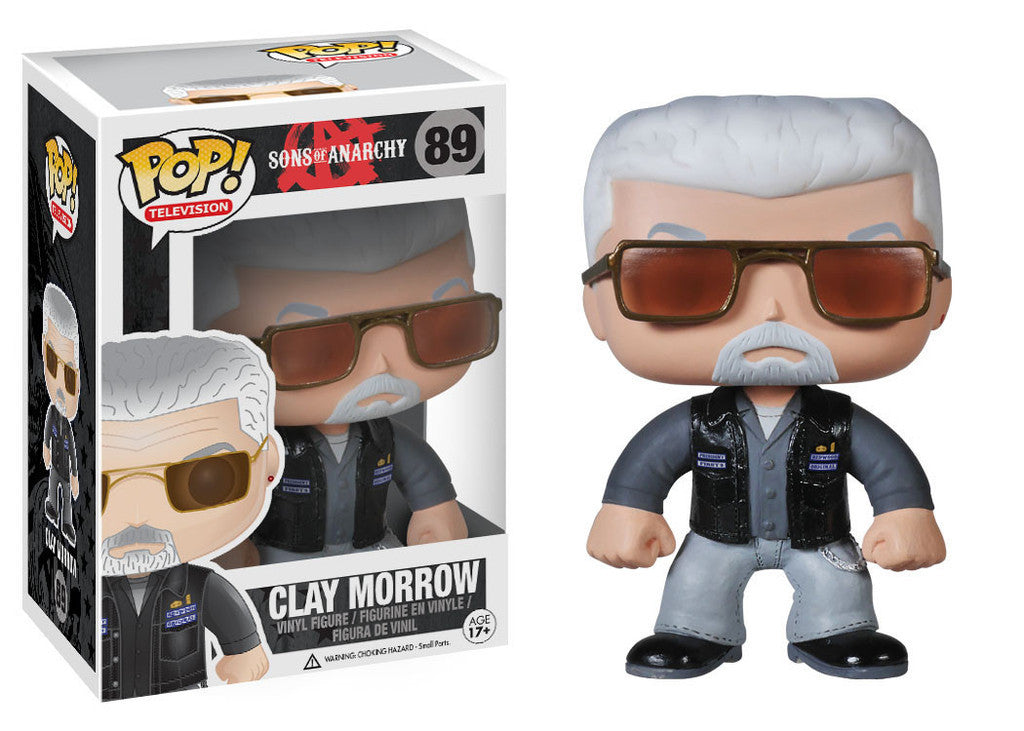 Sons of Anarchy Clay Morrow Pop Retired