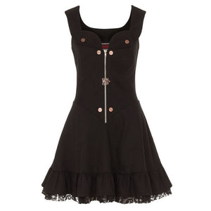 Steampunk Short Flare Dress