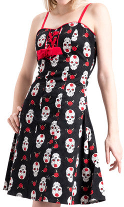 Jawbreaker Muerte Skater Dress