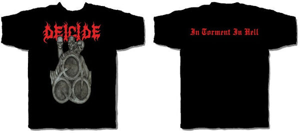 "Deicide ""In Torment In Hell"" Men's T-Shirt w/ Back Print"