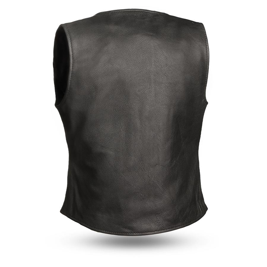 Honey Badger Leather Vest